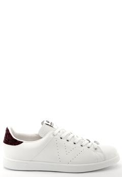 Victoria Victoria Leather Sneaker Burdeos Bubbleroom.se