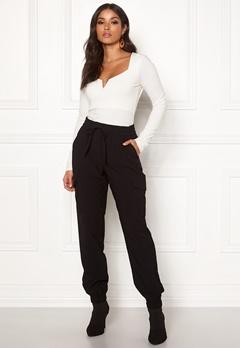 VILA Adya 7/8 Pants Black Bubbleroom.se