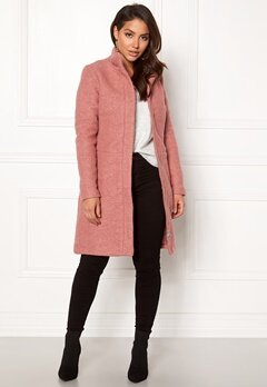 VILA Alanis Coat Ash Rose Bubbleroom.se