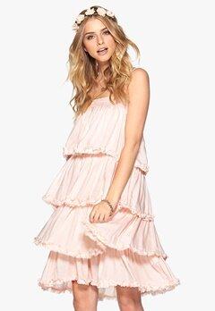 VILA Allo Dress Peach Blush Bubbleroom.se