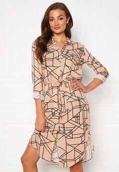 VILA Alu Midi Shirt Dress Nomad Bubbleroom.se