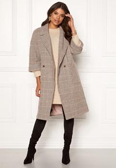 VILA Amoro Wool Sleeve Coat Puce Bubbleroom.se