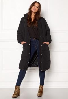 VILA Anabella Long Jacket Black Bubbleroom.se