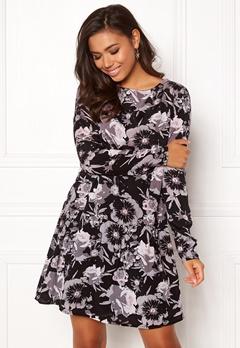 VILA Astha L/S Dress Black Bubbleroom.se