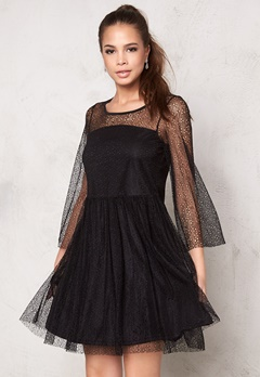 VILA Auna Dress Black Bubbleroom.se