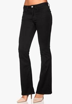 VILA Calm Flare Jeans Black Bubbleroom.no