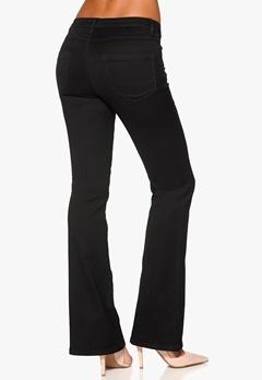 VILA Calm Flare Jeans Black Bubbleroom.se