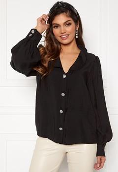 VILA Cameli L/S Shirt Black Bubbleroom.se