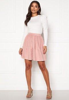 VILA Choose HW Skirt Pale Mauve Bubbleroom.se
