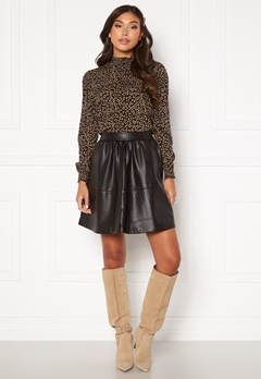 VILA Choosy HW Skirt Black Bubbleroom.se