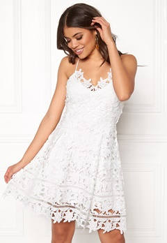 VILA Clarna Strap Dress Cloud Dancer Bubbleroom.se