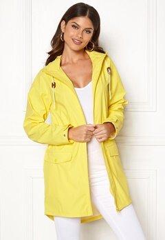 VILA Cloud Rain Jacket Lemon Zest Bubbleroom.se