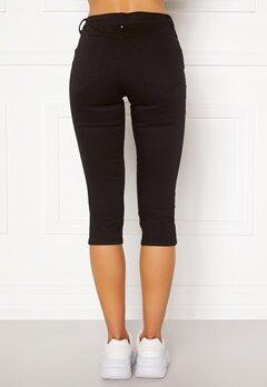 VILA Commit Capri Pants Black Bubbleroom.se