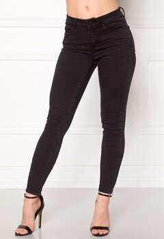 VILA Commit Lux RW 5p Jeans Black Bubbleroom.fi