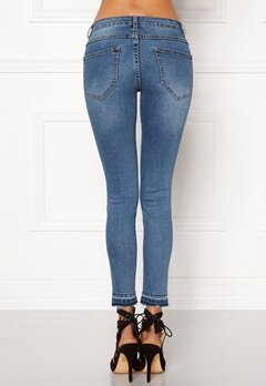 VILA Commit Lux RW 5p Jeans Medium Blue Denim Bubbleroom.fi