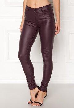 VILA Commit New Coated Jeans Fig Bubbleroom.se