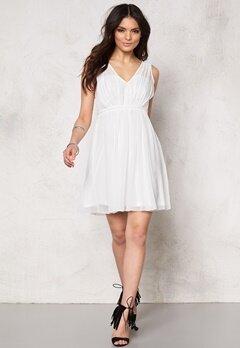 VILA Cotina Dress Snow White Bubbleroom.fi