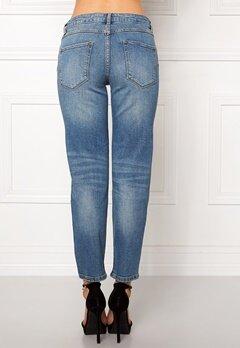 VILA Crow rw Cropped Jeans Medium Blue Denim Bubbleroom.se