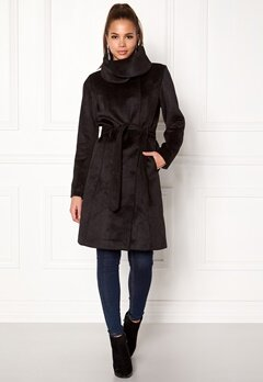 VILA Dahlia Wool Coat Black Bubbleroom.fi