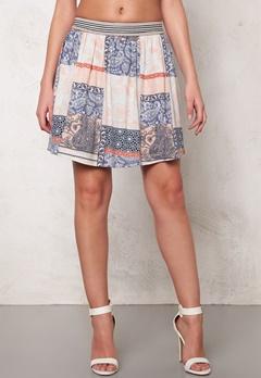 VILA Dalias Skirt Snow White Bubbleroom.se