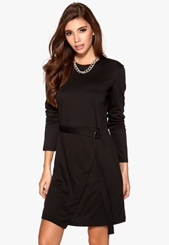 VILA Dara L/S Dress Black Bubbleroom.fi