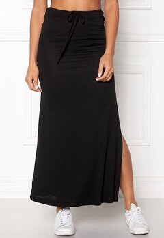 VILA Deana Maxi Skirt Black Bubbleroom.fi