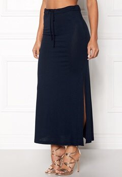 VILA Deana Maxi Skirt Total Eclipse Bubbleroom.se