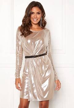 VILA Disco S/L Dress Morganite Bubbleroom.se