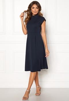 VILA Ellery S/L Dress Total Eclipse Bubbleroom.se