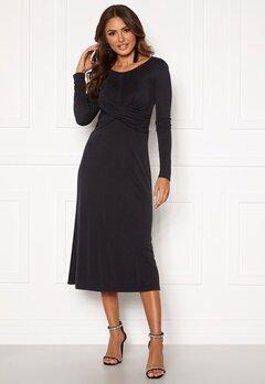 VILA Eloisa L/S Dress Black Bubbleroom.se