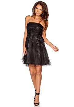 VILA Essay Corsage Dress Black Bubbleroom.se