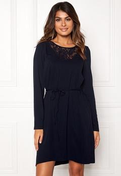 VILA Everly L/S Dress Total Eclipse Bubbleroom.se