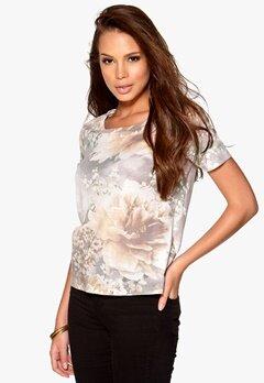 VILA Flaw T-Shirt Phantom Bubbleroom.fi
