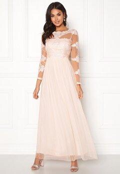 VILA Georgious Maxi Dress Peach Blush Bubbleroom.se