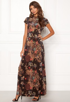 VILA Gilla Cap Sleeve Dress Black Bubbleroom.se
