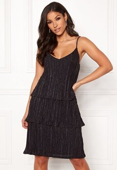 VILA Glitto Strap Dress Black Bubbleroom.se