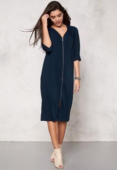 VILA Harvy Long Dress Total Eclipse Bubbleroom.no
