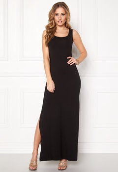 VILA Honesty New Maxi Dress Black Bubbleroom.fi