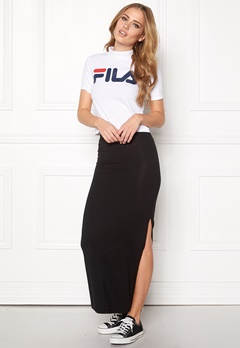 VILA Honesty New Maxi Skirt Black Bubbleroom.fi