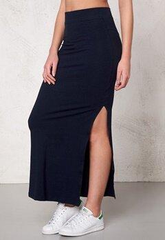 VILA Honesty New Maxi Skirt Total Eclipse Bubbleroom.se