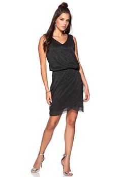 VILA Janari detail dress Black Bubbleroom.se