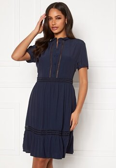 VILA Jessas S/S Dress Navy Blazer Bubbleroom.se