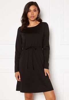 VILA Juner L/S Dress Black Bubbleroom.se