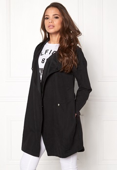 VILA Lake Loose Jacket Black Bubbleroom.fi