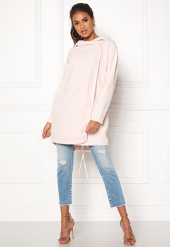 VILA Lake Loose Jacket Peach Blush Bubbleroom.se