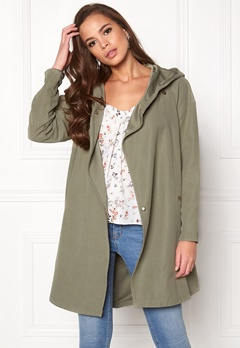 VILA Lake Loose Jacket Vetiver Bubbleroom.fi