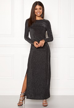 VILA Libbo Maxi Dress Black Bubbleroom.se