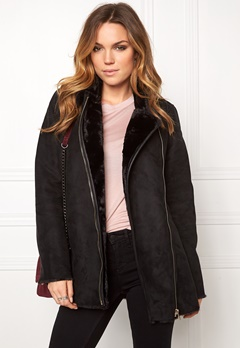 VILA Lier Jacket Black Bubbleroom.dk