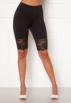 VILA Linani Shorts Black Bubbleroom.se