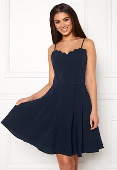 VILA Linea Strap Dress Navy Blazer Bubbleroom.se